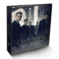 Gotham Before the Legend Season 2 BINDER Cryptozoic Sealed Wardrobe Card+9 Pages