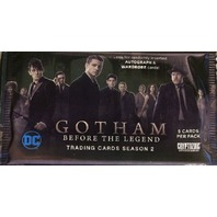 Gotham Before the Legend Season 2 Trading Cards Hobby Pack Sealed Cryptozoic 2017