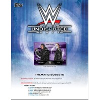 2017 Topps WWE Undisputed Hobby Box (10 Packs) (Factory Sealed)