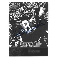 KELLEN WINSLOW 2011 Upper Deck College Legends auto #29 Missouri Tigers