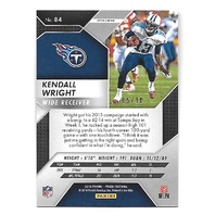 KENDALL WRIGHT 2016 Panini Prizm Prizms Gold Refractor /10 Tennessee Titans