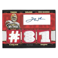 TRAVIS WILSON 2006 Topps Triple Threads Autographed Relic Red auto /18