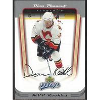 Dion Phaneuf Calgary Flames 2005-06 UpperDeck MVP Rookie Card #404