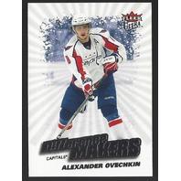 Alexander Ovechkin Washington Capitals 2008-09 Fleer Ultra Decision Makers #DM2