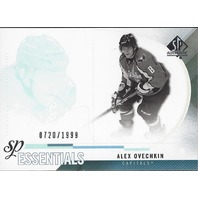 Alexander Ovechkin 2010-11 UD SP Authentic Essentials Washington CApitals /1999