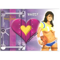 TRACI BROOKS 2012 Benchwarmer Vault Bikini Top Shirt Swatch Card