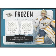 Pekka Rinne 2013-14 Upper Deck UD Artifacts Frozen Jerseys Blue Predators FA-PR