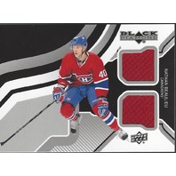 Nathan Beaulieu Upper Deck UD Black Diamond Jersey Relic 2013-14 Canadians