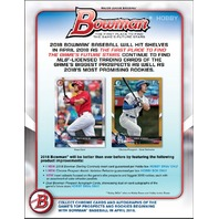 2018 Bowman Baseball (10 Card) Hobby PACK (Factory Sealed)