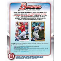 2018 Bowman Baseball (12 Pack) Hobby Jumbo Box (Factory Sealed)