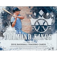 2018 Panini Donruss Diamond Kings Baseball Hobby 24 Box CASE (Factory Sealed)