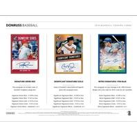 2018 Panini Donruss Baseball HOBBY PACK (Factory Sealed)(8 Card s)