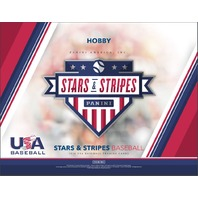 2018 Panini USA Stars & Stripes Baseball Hobby 5 Pack Box (Factory Sealed)