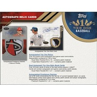 2018 Topps Tier One Baseball Hobby 12 Box Case (Factory Sealed)