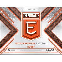 2018 Panini Elite Collegiate Draft Picks Football Hobby PACK (Sealed)(15 Card s)