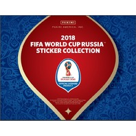 2018 Panini FIFA World Cup Soccer Stickers Box (Futbal) (Sealed)--NO ALBUM--