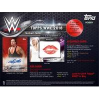 2018 Topps WWE Wrestling Hobby 12 Box Case (Factory Sealed)