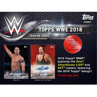 2018 Topps WWE Wrestling Hobby (7 Card) PACK (Factory Sealed)