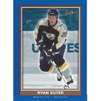 Ryan Suter Nashville Predators 2005-06 Bee Hive Hockey Blue