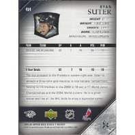 Ryan Suter Nashville Predators 2005-06 Upper Deck Series 2 Young Guns RC #454