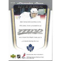 Alexander Steen Toronto Maple Leafs 2005-06 UpperDeck MVP Rookie Card #413