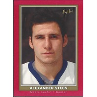 Alexander Steen Toronto Maple Leafs 2005-06 Bee Hive Hockey Red #112