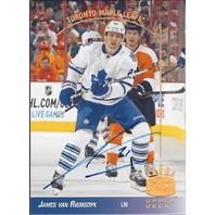 James Van Riemsdyk Toronto Maple Leafs 2014 SP Hockey