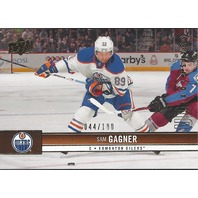 Sam Gagner Edmonton Oilers 2012-13 UpperDeck Update Hockey UD Exclusives #280/100