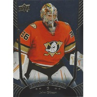 John Gibson Anaheim Ducks 2016-17 Upper Deck Series One Shining Stars #SS-46