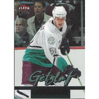 Ryan Getzlaf Anaheim Mighty Ducks 2006 Fleer Ultra Rookie Card #267