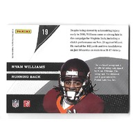 RYAN WILLIAMS 2011 Prestige Collegiate Lettermen Autographs patch auto #19