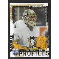 Marc-Andre Fleury 2016-07 Upper Deck UD Be A Player BAP Profiles Penguins #PP17