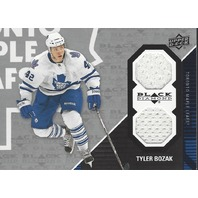 Tyler Bozak 2011-12 Upper Deck UD Black Diamond Jersey Relic Maple Leafs TOR-TB