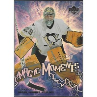 Marc-Andre Fleury 2003-04 Upper Deck UD Magic Moments MM-9 Pittsburgh Penguins