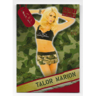 Talor Marion  Benchwarmer Boot Camp Camouflage Card 1/1
