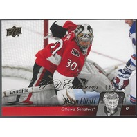 Brian Elliot 2010-11 Upper Deck UD Series 1 Exclusives Calgary Flames  /100