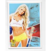 Kristina Carroll  Benchwarmer Hobby Rookie Card 3/5 holding bat
