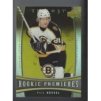 Phil Kessel 2006-07 UD Trilogy Rookie Premiere RC Pittsburgh Penguins /999