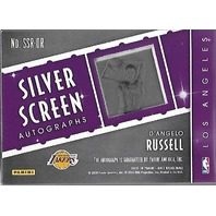 D'Angelo Russell 2015-16 Panini Gala Silver Screen Rookie RC Autographs auto /60