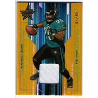 FRED TAYLOR 2005 Rookies & Stars Longevity Materials Gold Jersey Card 3/69