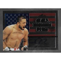 JOEY VILLASENOR 2011 Leaf UFC MMA Metal National Pride Signature auto #NP-JV-2