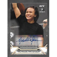 MICHELLE WATERSON 2016 Topps UFC Authentic Knockout auto /249 blue Autograph