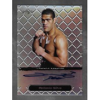 ANTONIO SILVA 2011 Leaf MMA Metal UFC Authentic Signature Refractor auto /50