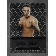 JAKE SHIELDS 2011 Leaf MMA Metal UFC Authentic Signature auto #GA_JS_1
