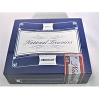 2017 Panini National Treasures NT NASCAR Trading Cards Empty Cedar Cigar Box