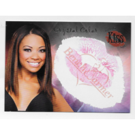 Crystal Colar 2005 Benchwarmer Authentic Kiss Card /16