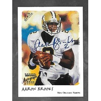 AARON BROOKS Gallery Autographs Artists Proofs Certified Player Autograph /100