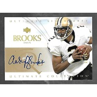 AARON BROOKS 2003 UD Upper Deck Ultimate Collection Signatures auto /50