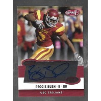 REGGIE BUSH 2006 Aspire Authentic Autographs auto #1A USC Trojans Autograph