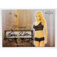 Tamara Witmer 2013 Benchwarmer Lingerie autograph #43